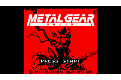 Metal Gear Solid: Ghost Babel - Intro - YouTube