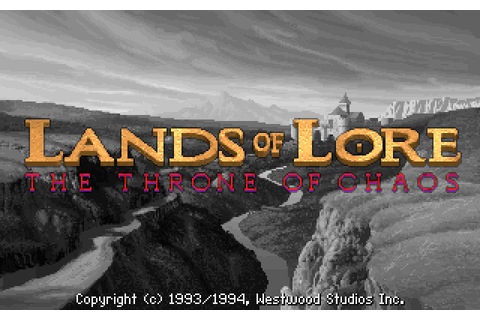 Lands of Lore: The Throne of Chaos (1993) by Westwood ...