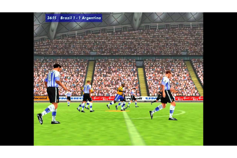 Microsoft International Soccer 2000 Gameplay - YouTube