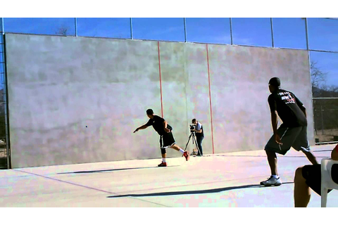 1 Wall Handball (The Best vs The Legend) Tuczon, AZ. - YouTube
