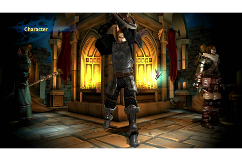 Dungeon Hunter: Alliance - PS3 - launch trailer by ...