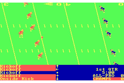 4th and Inches Download (1988 Sports Game)