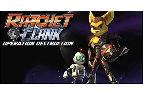 Test du jeu Ratchet & Clank : Operation Destruction sur ...