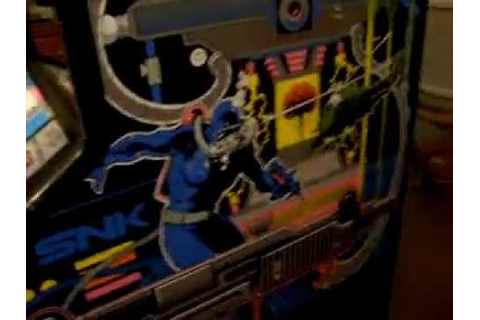 1989 SNK Mechanized Attack Video Arcade Game Machine - YouTube