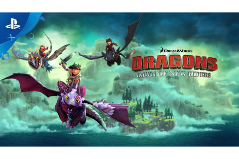 DreamWorks Dragons - Dawn of New Riders | PS4 - YouTube