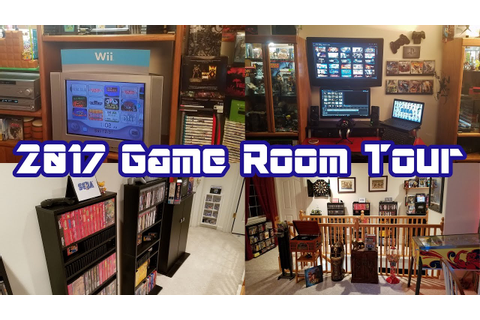 2017 Game Room Tour: Complete Overview of Our Video Game ...