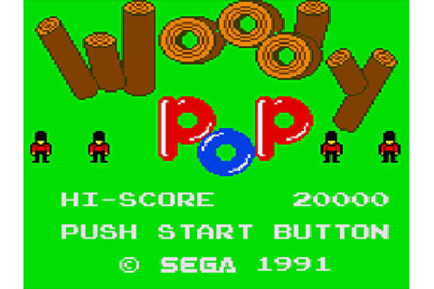 Woody Pop Review for Game Gear (1991) - Defunct Games