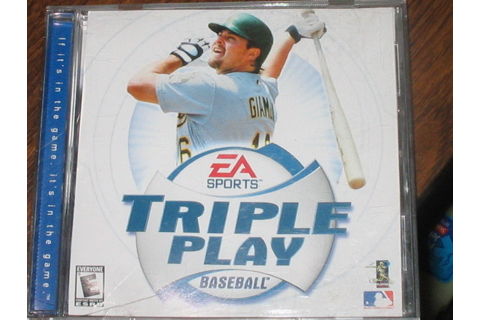 Free: TRIPLE PLAY BASEBALL COMPUTER GAME - PC Games ...