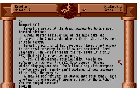 Zork Zero: The Revenge of Megaboz - My Abandonware