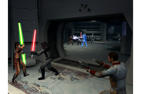 """The Greatest Star Wars Game Ever"": Star Wars: Knights of ..."