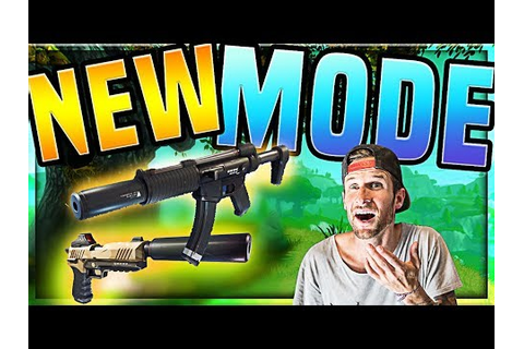 "*NEW* Fortnite Game Mode ""Sneaky Silencers"" - YouTube"