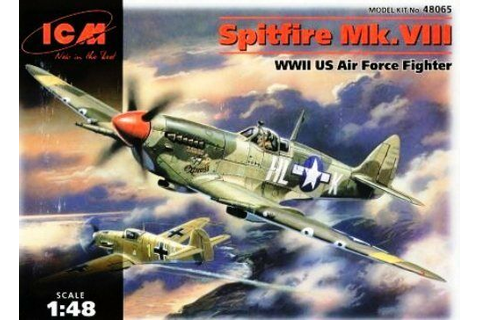 SPITFIRE Mk.VIII ( USAAF MARKINGS ) 1/48 ICM | eBay
