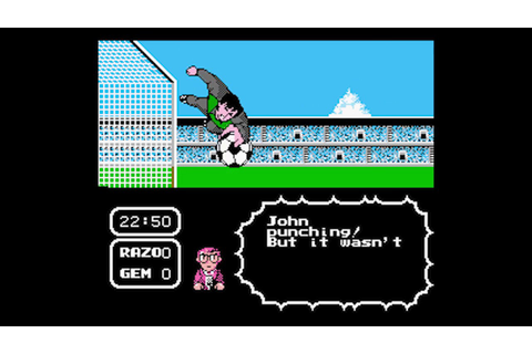 Tecmo Cup Football Game - NES Gameplay - YouTube