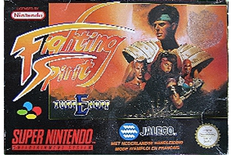 Fighting Spirit : Tuff E Nuff (Snes)