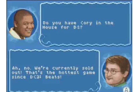 Cory for DS | Cory in the House | Know Your Meme