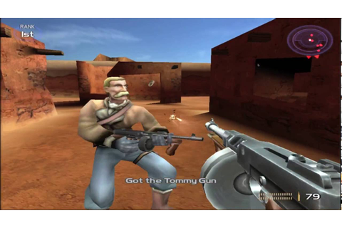 Timesplitters 2 Multiplayer Gameplay - YouTube