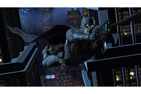 Watch the first trailer for Telltale's new 'Batman' game