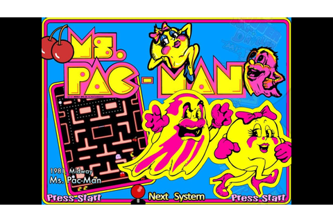 Ms. Pac-Man (Arcade) - Game Play - YouTube