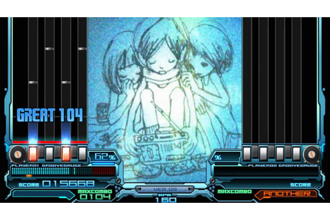 IIDX 9th style - moon_child (SPA) Autoplay - YouTube