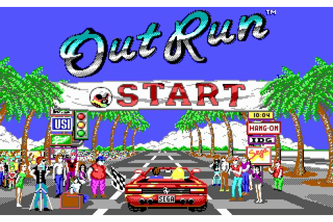 Download OutRun racing for DOS (1989) - Abandonware DOS