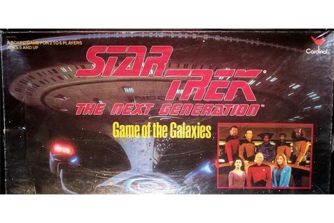 STAR TREK THE NEXT GENERATION GAME OF THE GALAXIES | eBay