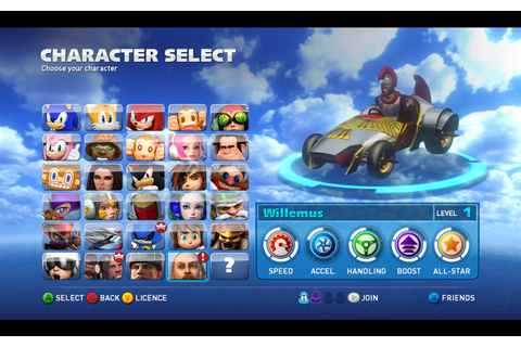 A new addition to Sonic and All-Stars Racing Transformed ...