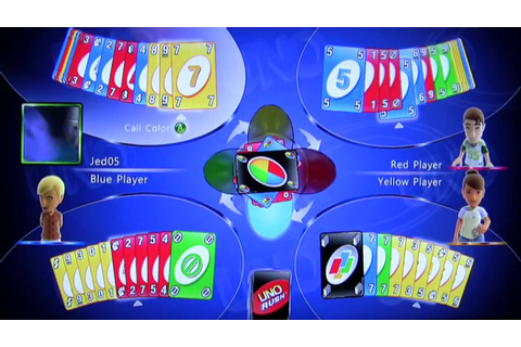 Uno Rush Co-Review for Xbox 360 Live Arcade - YouTube