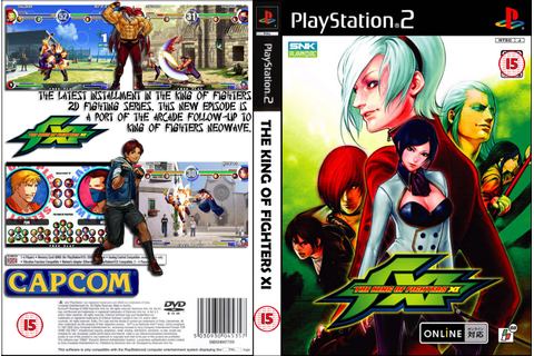 GAME PS2: KING OF FIGHTERS XI