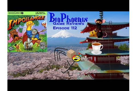 BioPhoenix Game Reviews: Impossamole (TurboGrafx 16) - YouTube