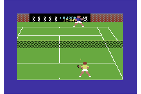 Download On-Court Tennis (Commodore 64) - My Abandonware