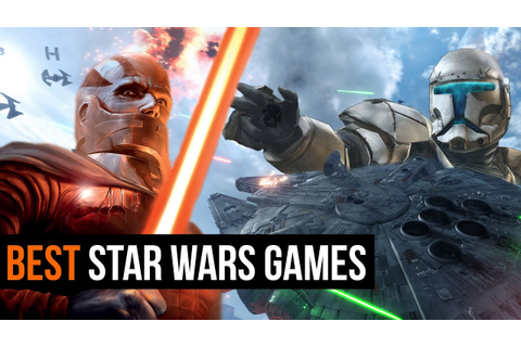 The 10 Best Star Wars Games ever - YouTube