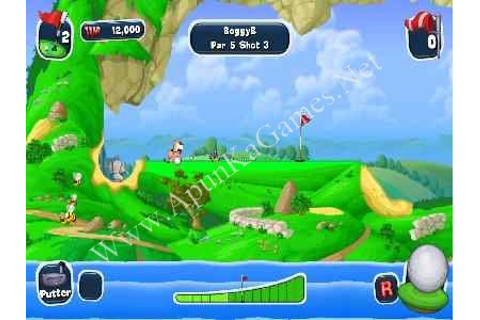 Worms Crazy Golf - Directly Games