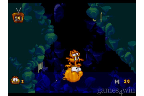 Garfield: Caught in the Act Download on Games4Win