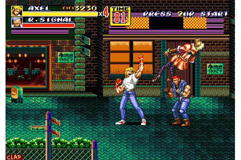 TURN TO CHANNEL 3: Is 'Streets of Rage 2' the best Sega ...