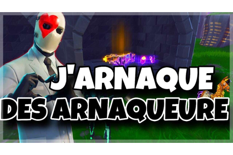 Fortnite on troll un arnaqueur - YouTube