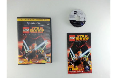 LEGO Star Wars game for Gamecube (Complete) | The Game Guy