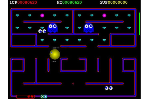 Deluxe Pacman - Freegamearchive.com
