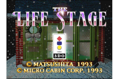 Virtual House. The life stage (1993) 3DO game