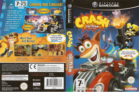 G9RP7D - Crash Tag Team Racing