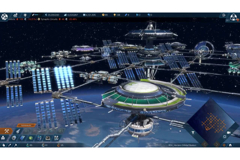 ANNO 2205 Level 201 - DLC Orbit Station - 06-08-2016 - YouTube