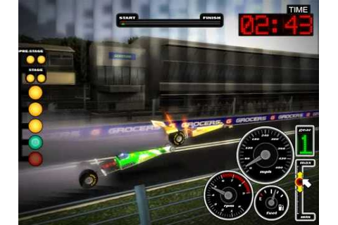 TOP FUEL DRAG RACING - Free full game - YouTube