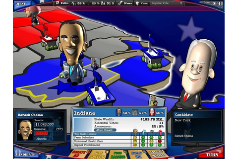 The Political Machine 2008 Download Free Full Game | Speed-New