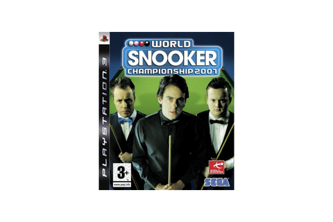 World Snooker Championship 2007, PlayStation 3 ...