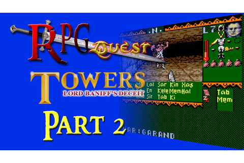 RPG Quest #243: Towers: Lord Baniff's Deceit (GBC) Part 2 ...