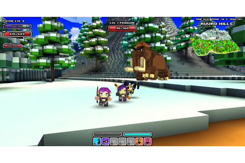 wollay's blog: Cube World: Multiplayer Impressions