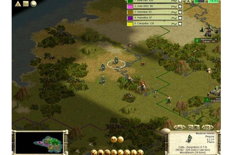 Civilization 3: Play the World Free Download Full PC Game ...