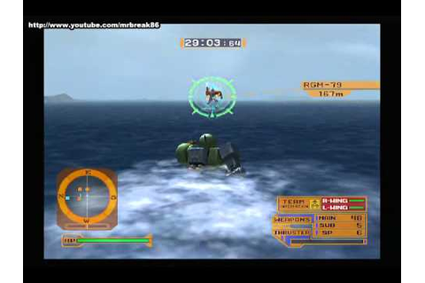[PS2] Mobile Suit Gundam Lost War Chronicles Zeon ...