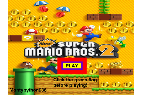 New Super Mario bros 2! THE GAME on Scratch