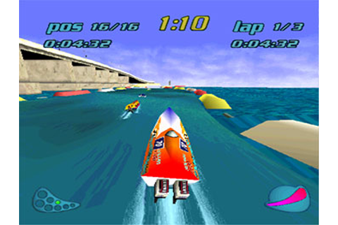 Rapid Racer (PSX) - Onlinemania