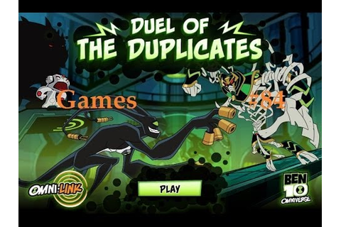 Games: Ben 10 Omniverse - Duel of the Duplicates - YouTube